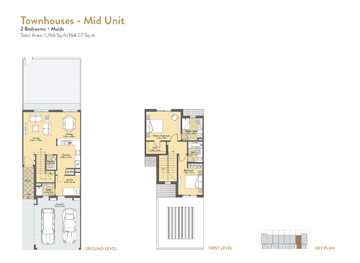 2 Bedroom Townhouses Midunit